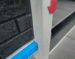 玄関扉アルミ枠 凹みサムネイル