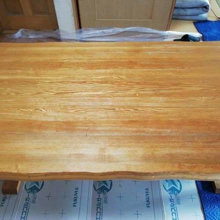 テーブル剥離再塗装