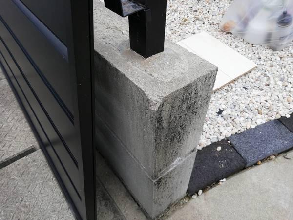 熊本市南区でコンクリートブロック補修を行いました。サムネイル